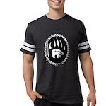 Tribal Bear Claw Mens Football Shirt