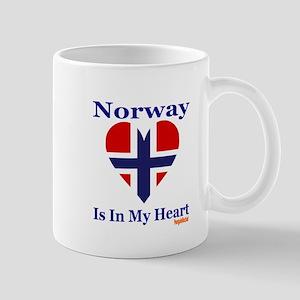 Norway - Heart Mug