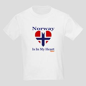 Norway - Heart Kids Light T-Shirt