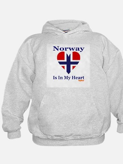 Norway - Heart Hoodie