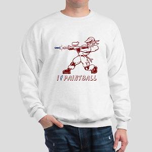 I Heart Paintball Sweatshirt