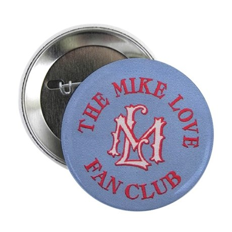 "Mike Love Fan Club Original Logo 2.25"" Button"