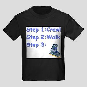 Roller Blading Baby Kids T-Shirt