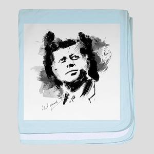 JFK baby blanket