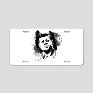 JFK Aluminum License Plate