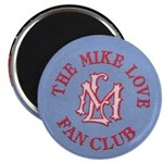 Mike Love Fan Club Original Logo Magnet Magnets