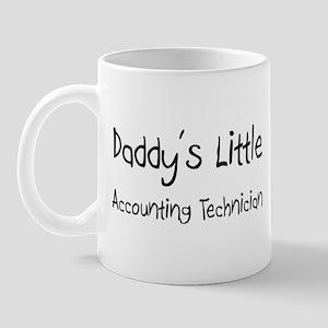 Daddy's Little Accounting Technician Mug
