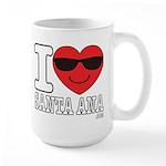 I Love Santa Ana Mugs