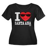 I Love Santa Ana Plus Size T-Shirt
