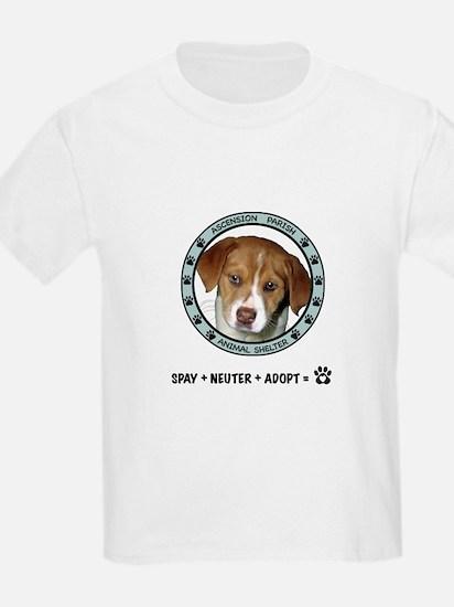Ascension Parish Animal Shelter Kids T-Shirt