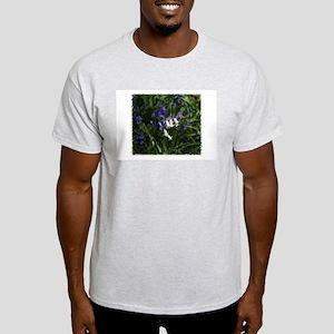 White N Blue Light T-Shirt