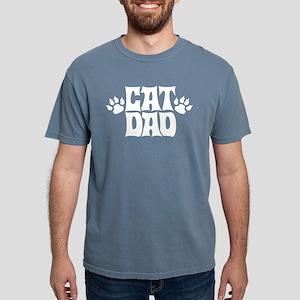 Cat Dad Mens Comfort Colors Shirt