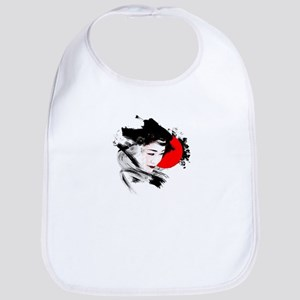 Japan Geisha Baby Bib
