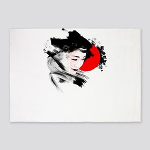Japan Geisha 5'x7'Area Rug