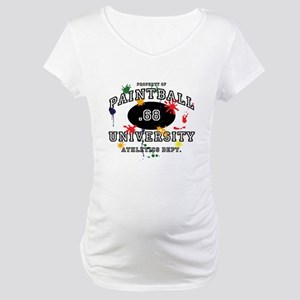 Paintball University Maternity T-Shirt