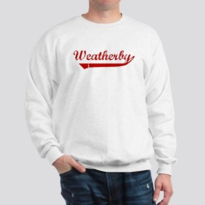 Weatherby (red vintage) Sweatshirt