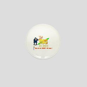 Top Cop Honey-Do list.' Mini Button