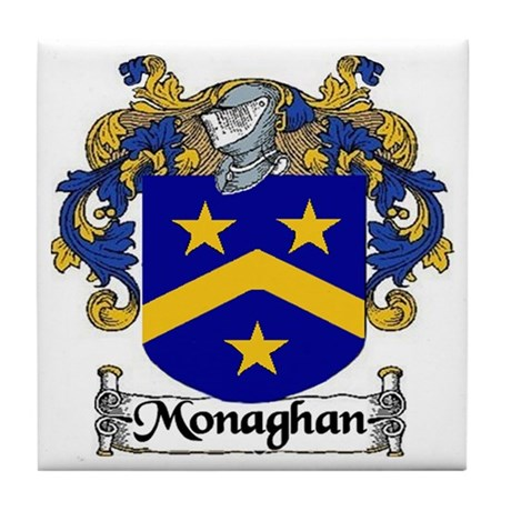 Monaghan Arms Ceramic Tile