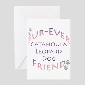 Catahoula Furever Greeting Card