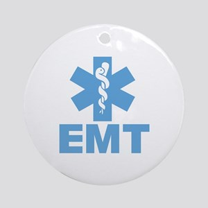 Blue EMT Ornament (Round)