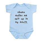 Obama Spit Up Infant Bodysuit