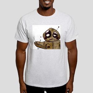 Vinnie Voodoo Ash Grey T-Shirt