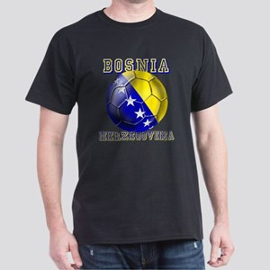 Bosnian Football Dark T-Shirt