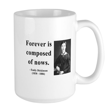 Emily Dickinson 3 Large Mug