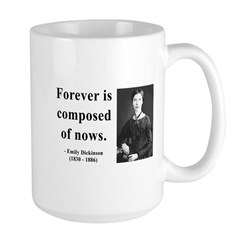 Emily Dickinson 3 Large Mug