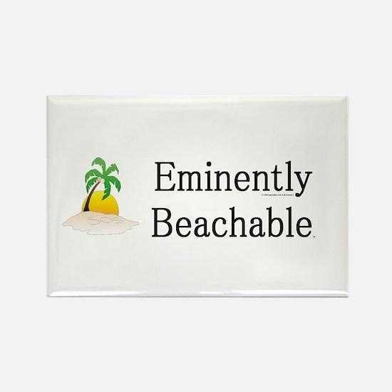 Eminently Beachable Rectangle Magnet