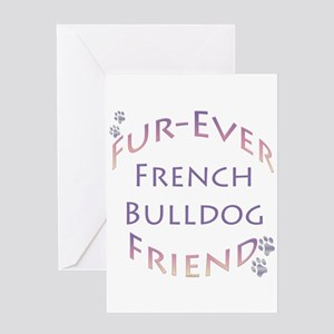 Frenchie Furever Greeting Card