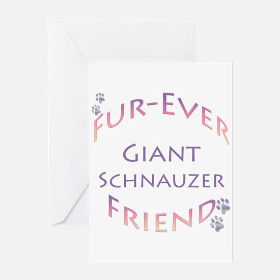 Schnauzer Furever Greeting Card