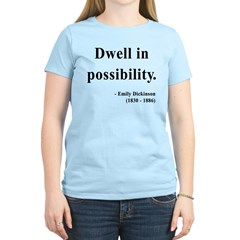 Emily Dickinson 2 Women's Light T-Shirt