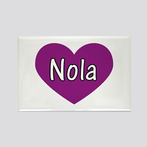 Nola Rectangle Magnet