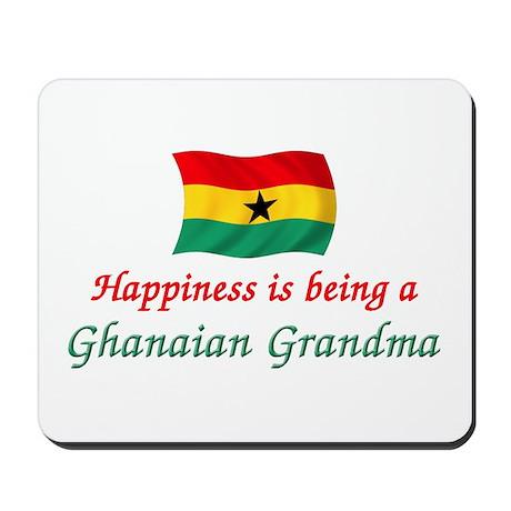Happy Ghanaian Grandma Mousepad