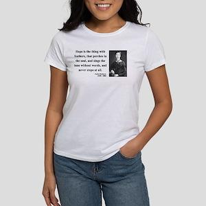 Emily Dickinson 1 Women's T-Shirt