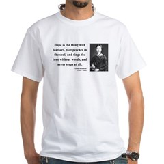 Emily Dickinson 1 White T-Shirt