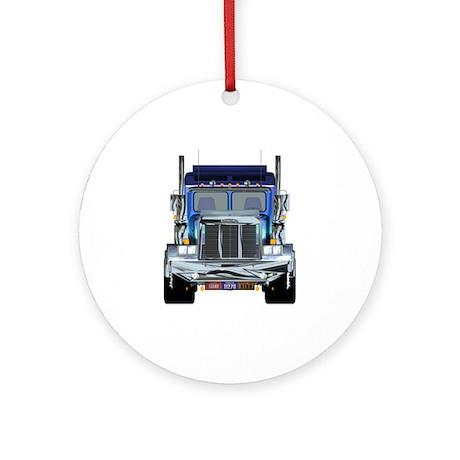 Trucker's Ornament (Round)