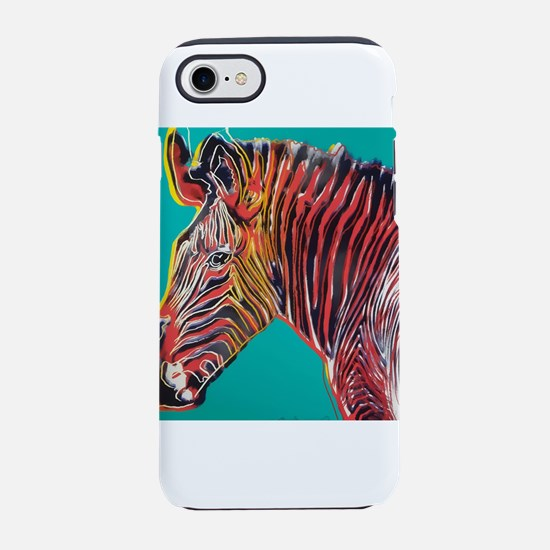 Zebra by Andy Warhol iPhone 8/7 Tough Case