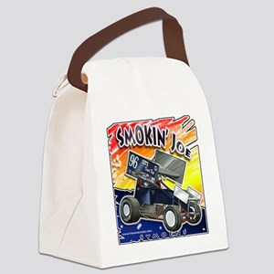 Smokin' Joe color splash Canvas Lunch Bag