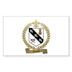 AUTIN Family Crest Rectangle Decal