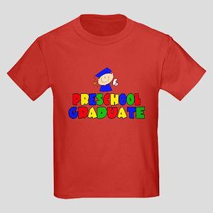 PreSchool Graduate Kids Dark T-Shirt