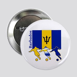 "Barbados Soccer 2.25"" Button (10 pack)"