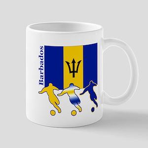Barbados Soccer Mug