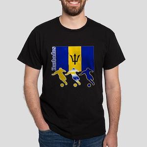 Barbados Soccer Dark T-Shirt
