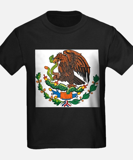 Mexican Coat of Arms White T-Shirt