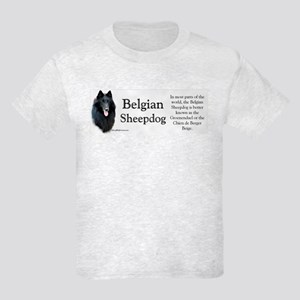 Belgian Sheep Profile Kids Light T-Shirt