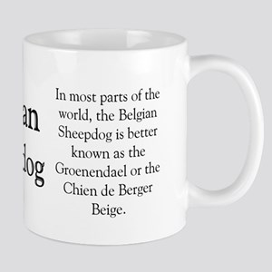 Belgian Sheep Profile Mug