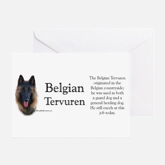 Terv Profile Greeting Card