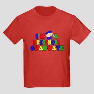 I'm A Pre-School Graduate Kids Dark T-Shirt